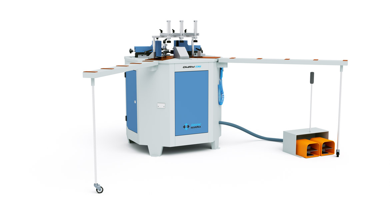 دستگاه پانچ هیدرولیک گوشه آلومینیوم
