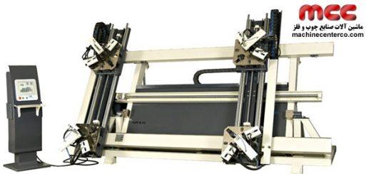 دستگاه هیدرولیکی پرس چهارگوش پروفیل آلومینیومی
